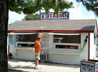 Italian Restaurant Ethnic Village 2011 Illinois State Fair, Springfield, Illinois