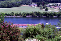 Sky Harbor Bavarian Inn room view deck barge Tennessee River 2007
