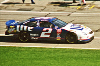 """NASCAR Cup Series Rusty Wallace 2 Miller Lite Ford Taurus qualifying 1998 Daytona 500"