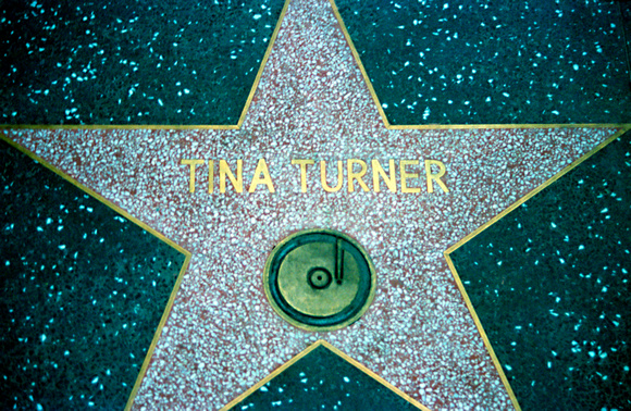 Star, Tina Turner Hollywood California 1988