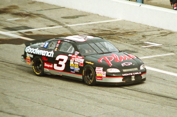 "NASCAR ""Cup Series"" ""Dale Earnhardt""  3 ""Goodwrench Plus"" Chevy ""Monte Carlo"" qualifying 1998 ""Daytona 500"""