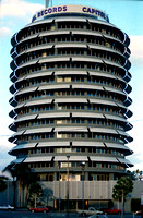 Capital Records Building Hollywood California 1988