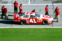 NASCAR Cup Series Casey Mears 41 Target Dodge Intrepid qualifying 2003 Daytona 500