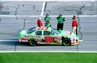 NASCAR Cup Series Bobby Labonte 18 Interstate Batteries Chevy Monte Carlo qualifying 2003 Daytona 500