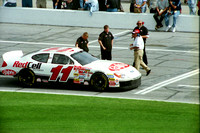 NASCAR Cup Series Bret Bodine 11 Ralph's Ford Taurus qualifying 2001 Daytona 500